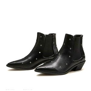 Shein studded boots